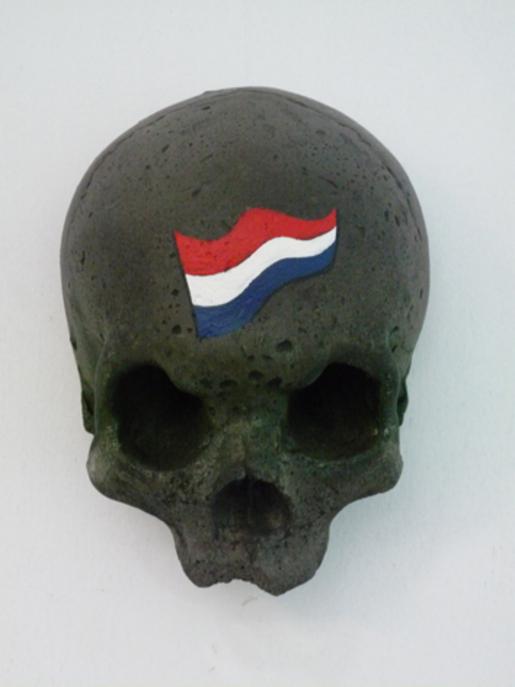 Edjo.nl | Schedel, scull bewerkt 1